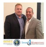 UCLA's Mark Francis and CEO of Sports 1 Marketing David Meltzer