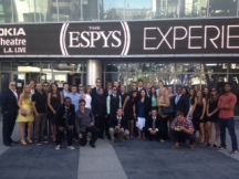 UCLA Sports Business Students at the 2013 ESPY Awards in Los Angeles