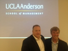UCLA's Mark Francis and Sports Agent Leigh Steinberg